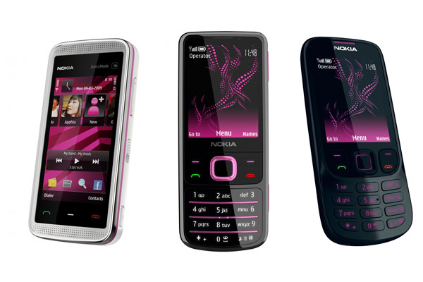 Nokia Illuvial Pink Collection
