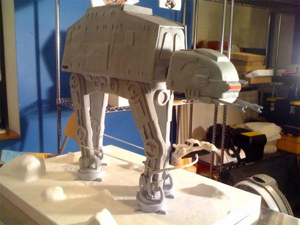 Star Wars AT-AT Cake