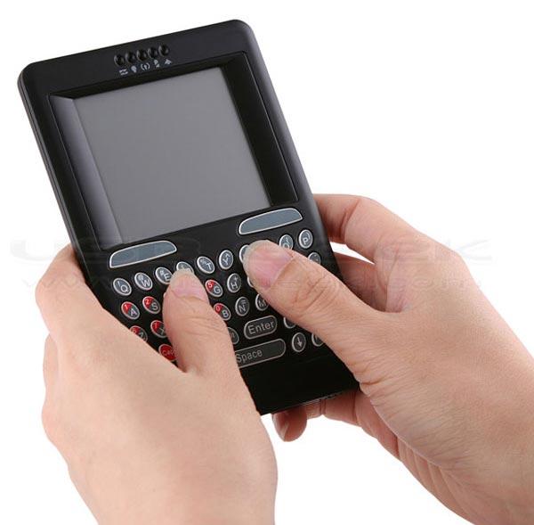 USB Wireless Handheld Touchpad Keyboard