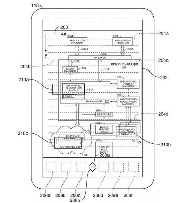 Apple's Tablet Patent Uses A Pen