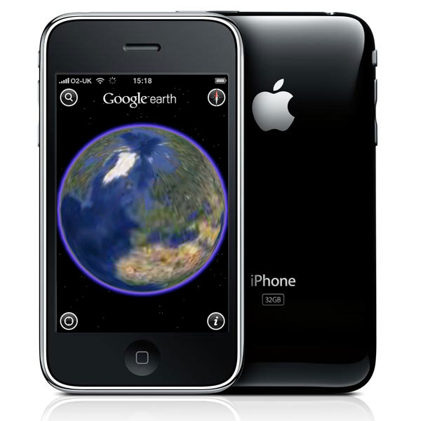 Google Updates Google Earth iPhone App