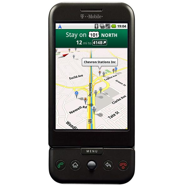 Google Maps Navigation Now Available For Android 1.6