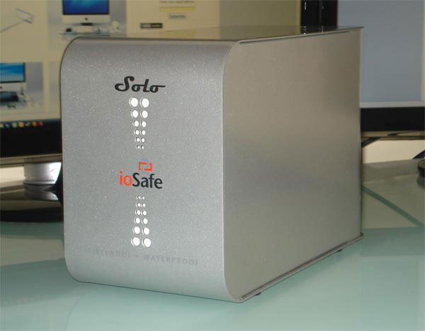 ioSafe Solo 2TB Rugged External Hard Drive