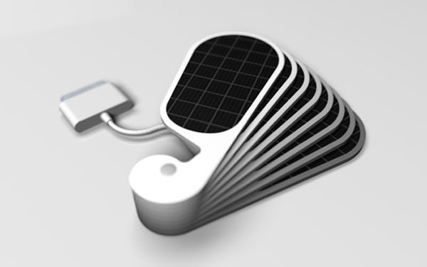 iPetals Solar iPhone Charger