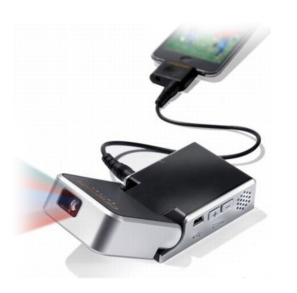 Iphone pocket projector for Proyector apple