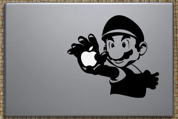 Mario MacBook Decal