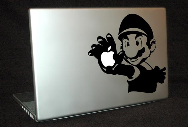 Mario MacBook Decal