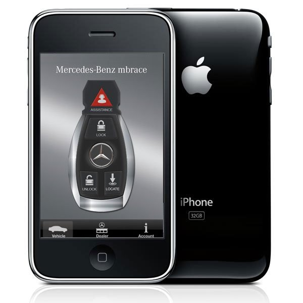 new mercedes benz range will be controlled by your iphone