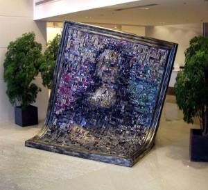 Micro Chip Mona Lisa