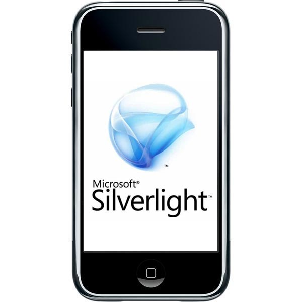 Microsoft Working On Silverlight For The IPhone
