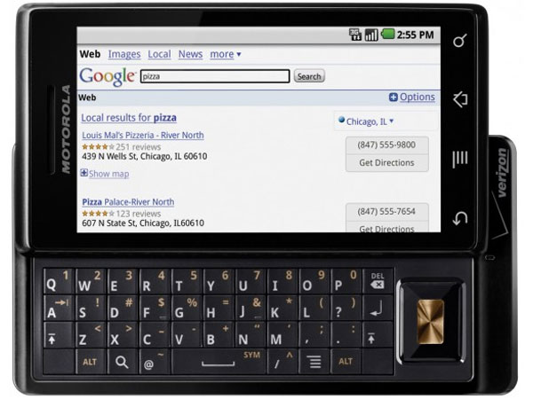 Motorola Droid Goes On Sale