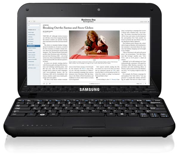 New York Times Offering Discounted Samsung Go Netbook