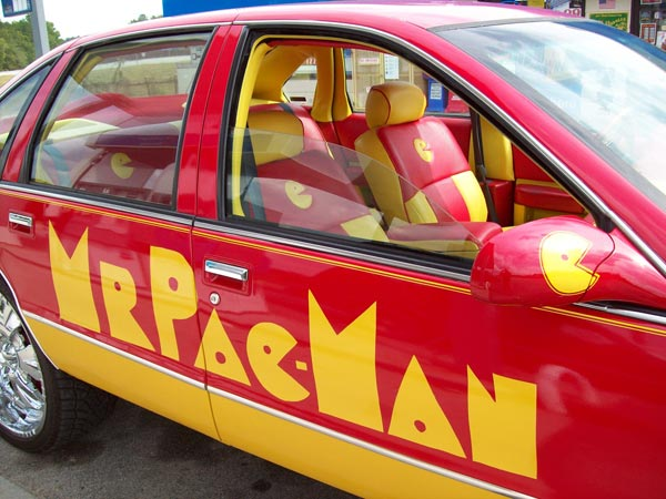 The Pac Man Car