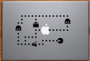 Pac-Man MacBook Decal