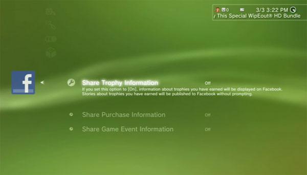 Sony PS3 Firmware Update 3.10 Adds Facebook