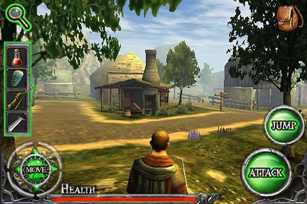 Ravensword - The Fallen King iPhone App