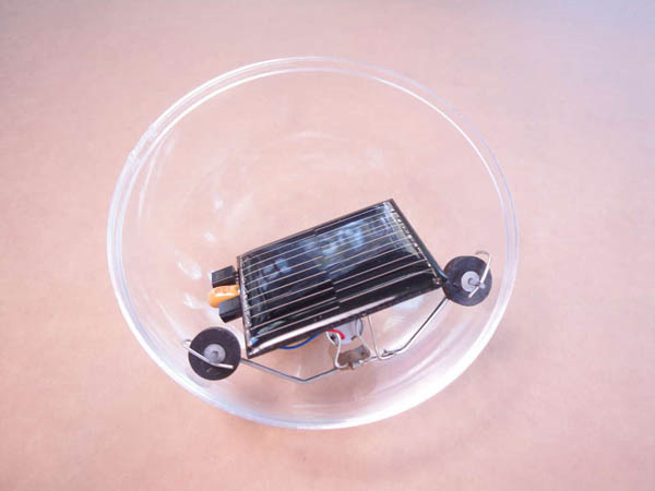 Solar Powered Robot Ball