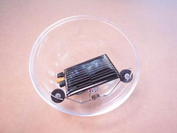 Solar Powered Robot Ball