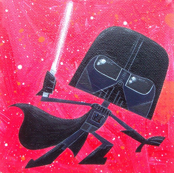 Geeky Star Wars Art