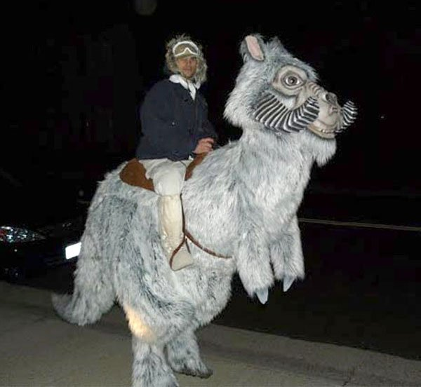 Awesome Star Wars Tauntaun Costume