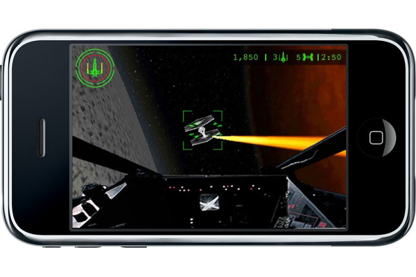 Star Wars Trench Run iPhone Game