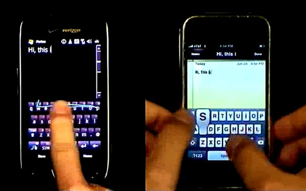 Swype vs QWERTY