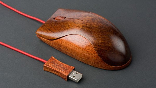 Wooden PC Mice By AlestRukov