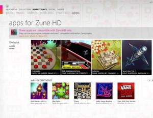 Zune HD Marketplace Now Features Free 3D Games