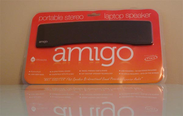 AQ Amigo Portable Stereo Laptop Speaker Review