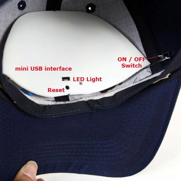 Baseball Cap Spy Camera