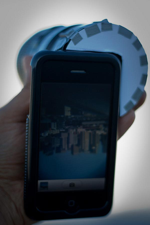 DSLR Lens iPhone Mod