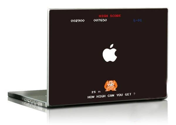 Donkey Kong MacBook Decals