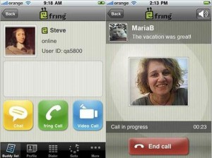 Fring Brings Video Calling To The Apple iPhone