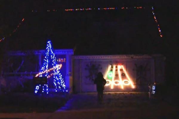 Guitar Hero Christmas Lights