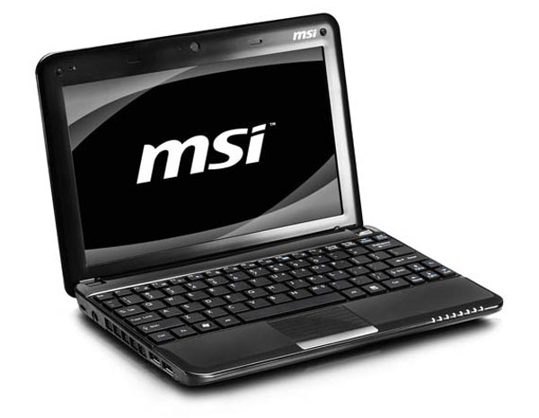 MSI Wind U130 And U135 Netbooks