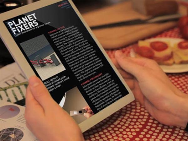 Mag+ Digital Magazine Reader Concept