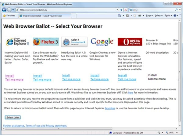 Microsoft And EU Settle Browser Antitrust Case
