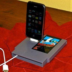 NES Cartridge iPhone Dock