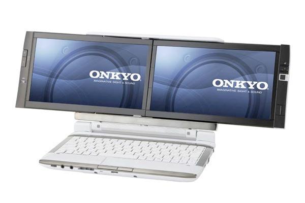 Onkyo DX1007A5 Dual Screen Netbook