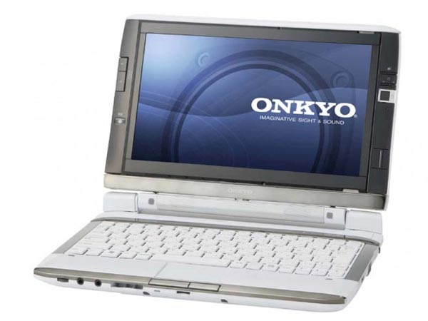 Onkyo DX1007A5 Dual Screen Netbook