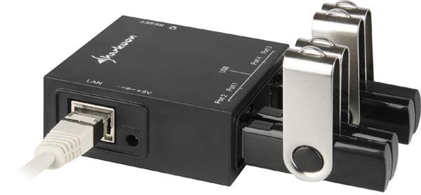 Sharkoon-USB-LANPort