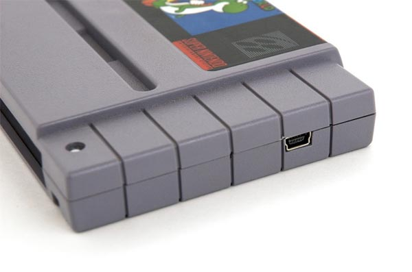 Super Mario World SNES Cartridge Hard Drive
