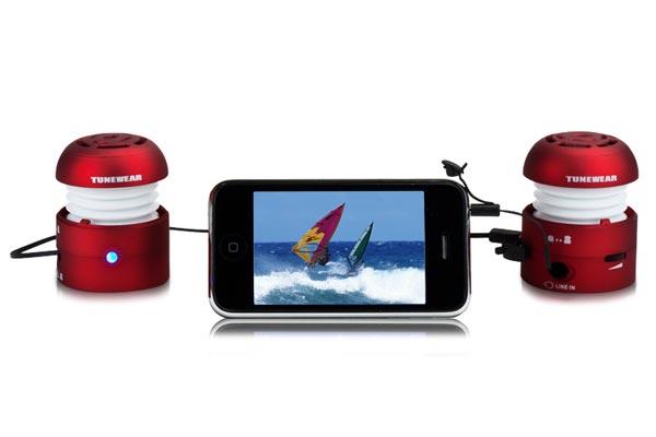 Tunewear Boomtune Bomb II Stereo Speaker