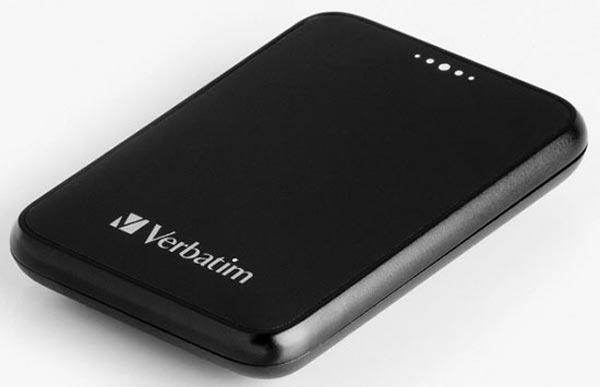 Verbatim 250GB Pocket Drive 1.8 Inch Portable Hard Drive