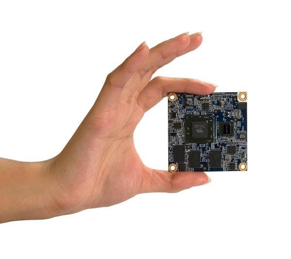 Via Mobile-ITX - Half The Size Of Pico-ITX