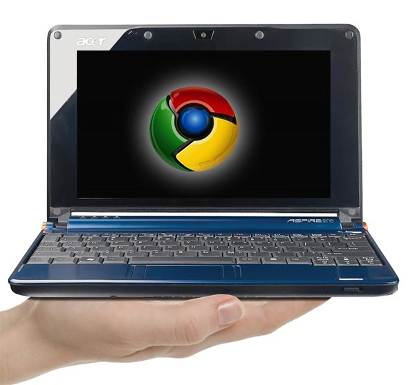 Acer Launching Google Chrome Netbook