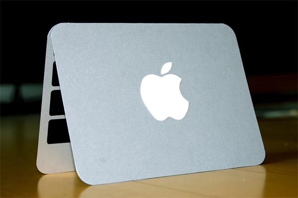 Apple MacBook Christmas Card