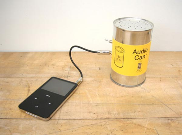 The Audio Can Speakers