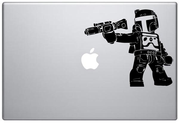 Star Wars MacBook Decals