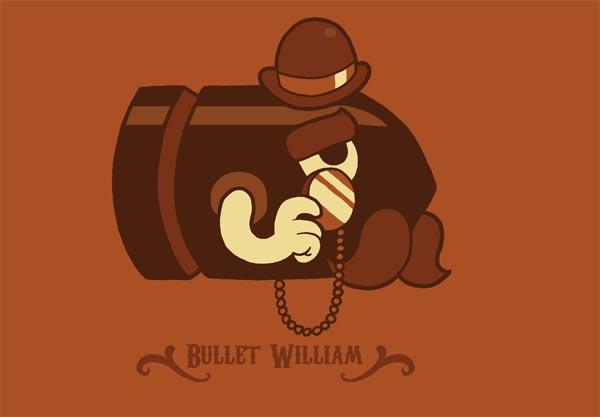 Bullet William T-Shirt